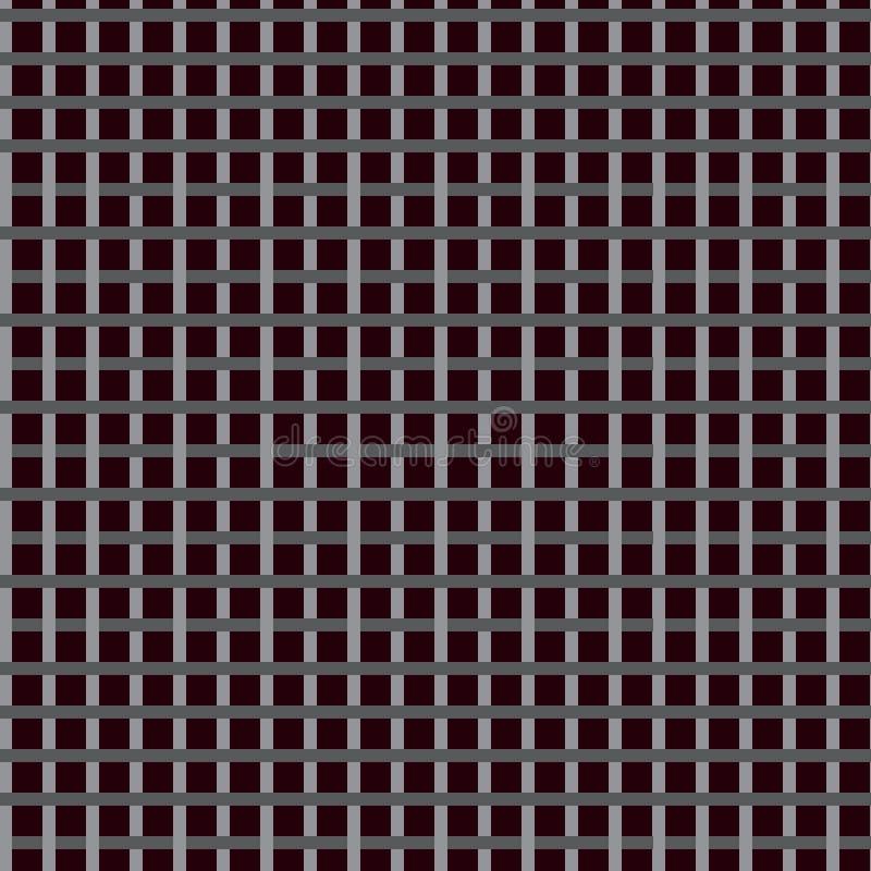 与正方形的样式 向量例证