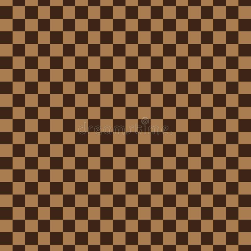 与正方形的样式 库存例证