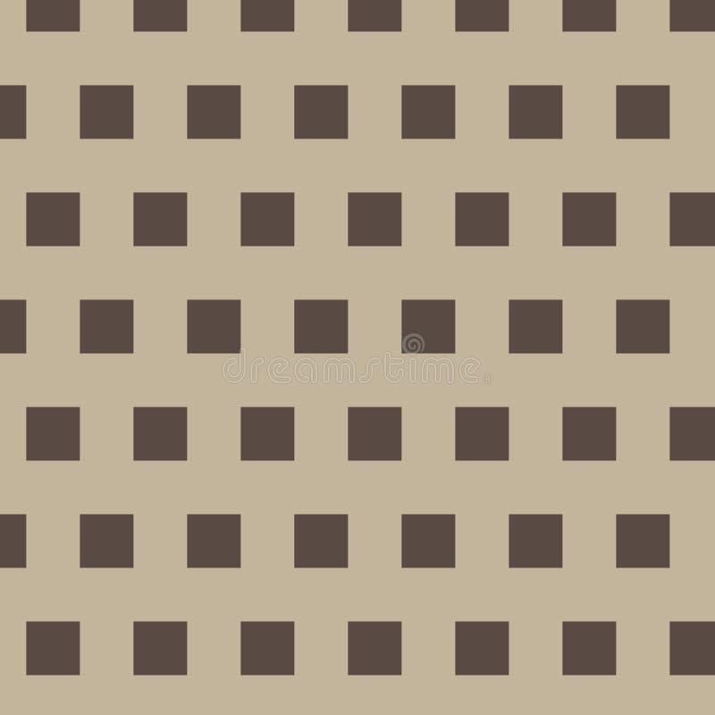 与正方形的样式 皇族释放例证