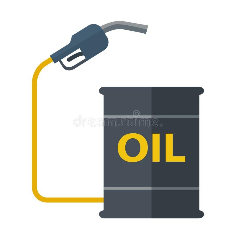 与气泵的金属桶 皇族释放例证