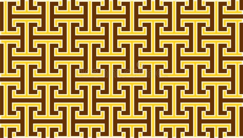 与水平,垂直和钴形状的优秀背景在金黄,白色和黄色之间的颜色 库存照片