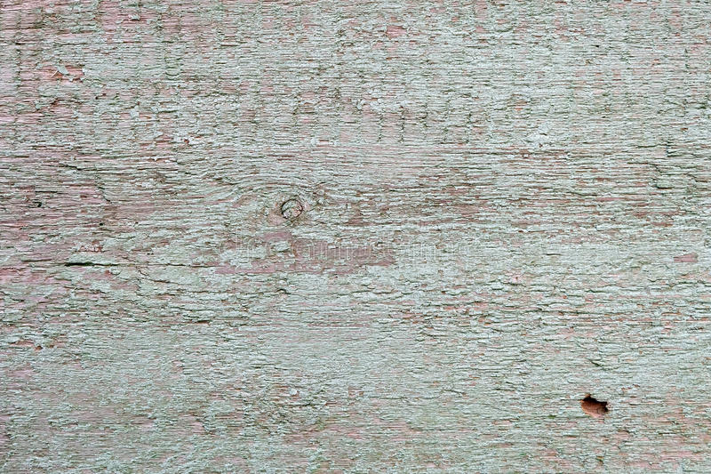 与油漆的木表面 免版税库存图片