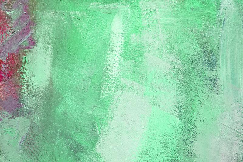 与油漆的色的帆布 免版税库存照片