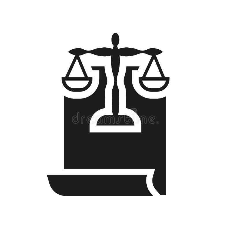 与法律象的纸卷 与法律商标概念的时髦纸卷在whi 皇族释放例证