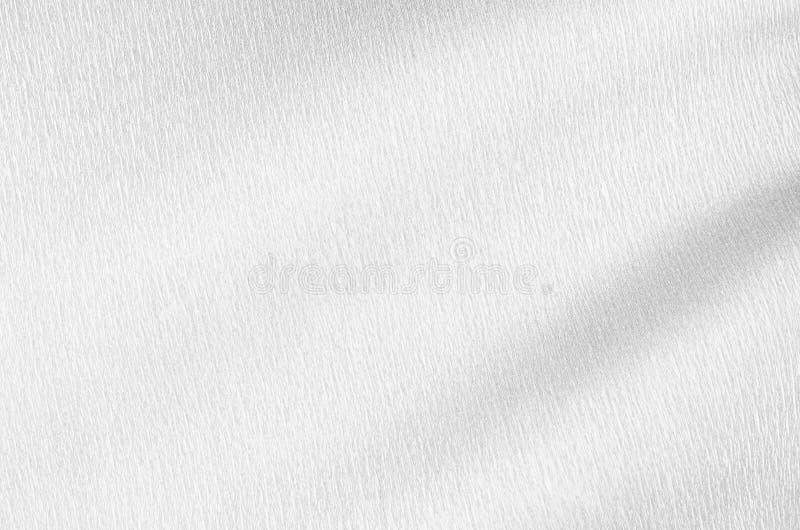 与液体波浪的白色银色精采淡光纹理 库存图片
