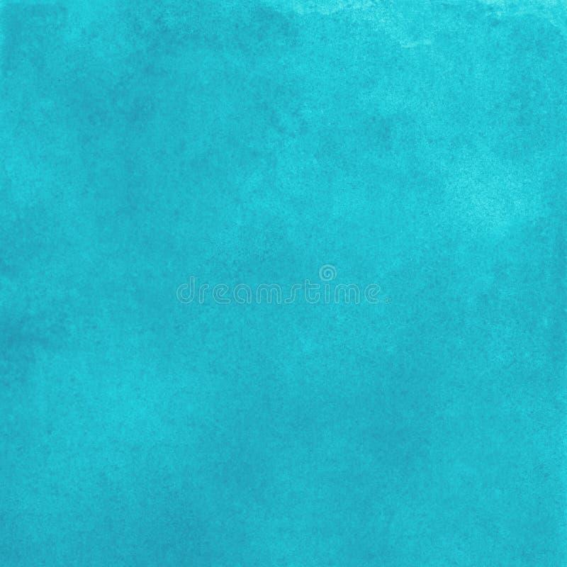 与淡色水彩天蓝色的颜色的抽象蓝色纹理样式背景 免版税库存照片