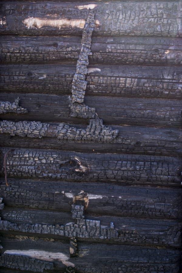 与深灰黑煤炭纹理的自然火灰 这是易燃的黑硬岩 Copyspace 免版税库存照片
