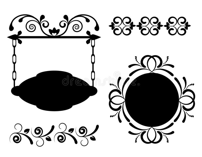 Download 与漩涡的减速火箭的标签 库存例证. 插画 包括有 设计, 精妙, deco, 华丽, beauvoir, 装饰品 - 30338755