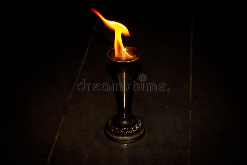 与火的火 图库摄影