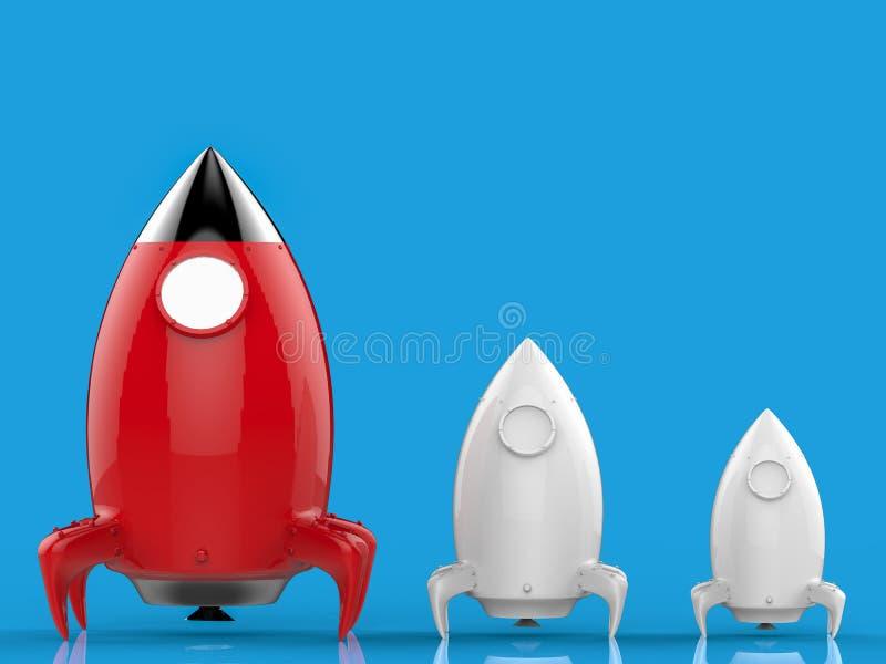 插画 包括有 , 起始时间, 火箭, 领导先锋, 探险, 分化, 占星术图片