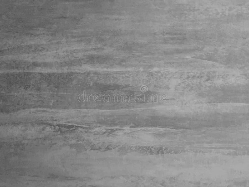 与灰色混凝土的现代墙壁装饰 免版税图库摄影