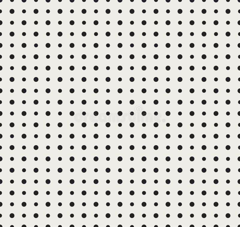 与点的抽象无缝的样式 几何现代背景 皇族释放例证