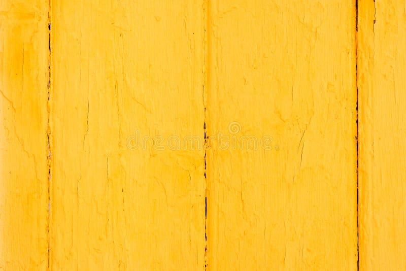 与片状油漆的老木被绘的表面 库存照片