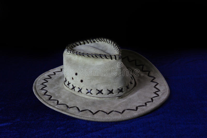 与牛仔帽的静物画 免版税图库摄影