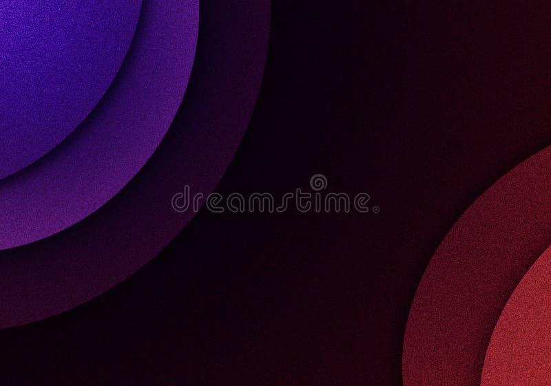 与环形轧材设计的色的背景 皇族释放例证