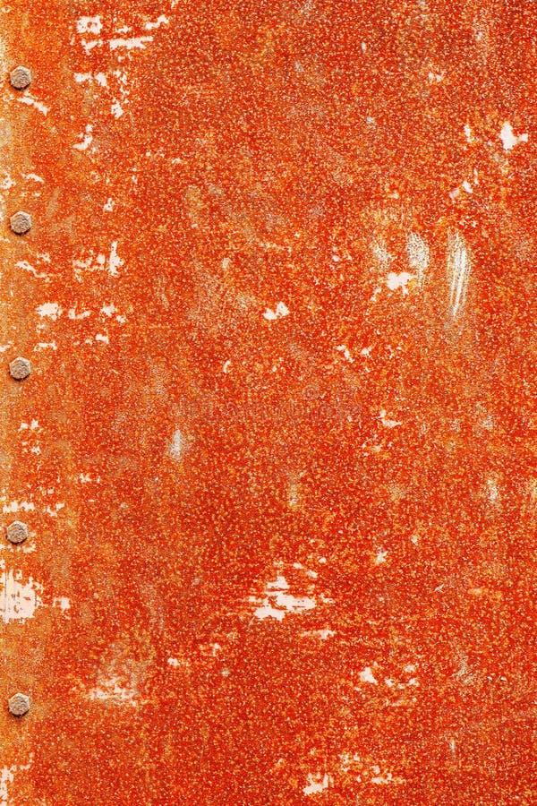 与瘤的生锈的金属 免版税库存图片