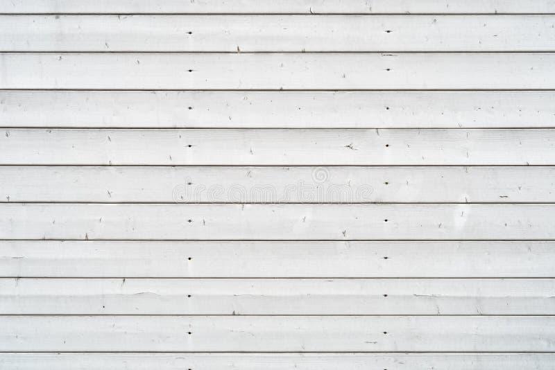 与白色木板的土气背景 免版税图库摄影