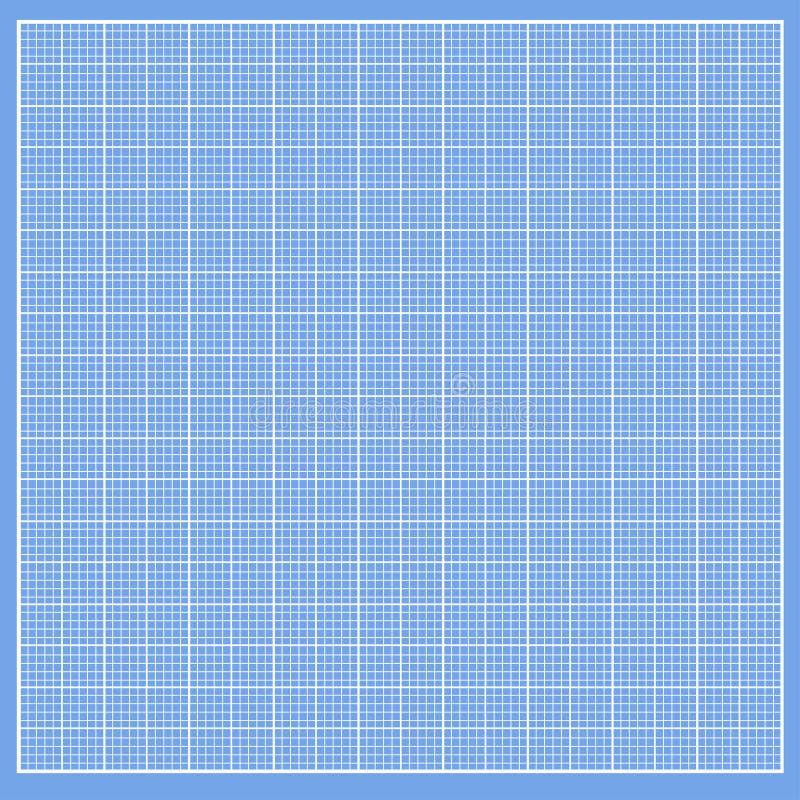 与白细胞的图表蓝纸 库存例证