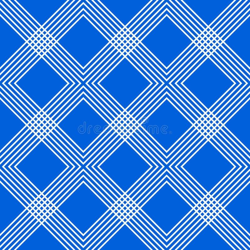 与相交的最小的几何样式排行形成interl 皇族释放例证