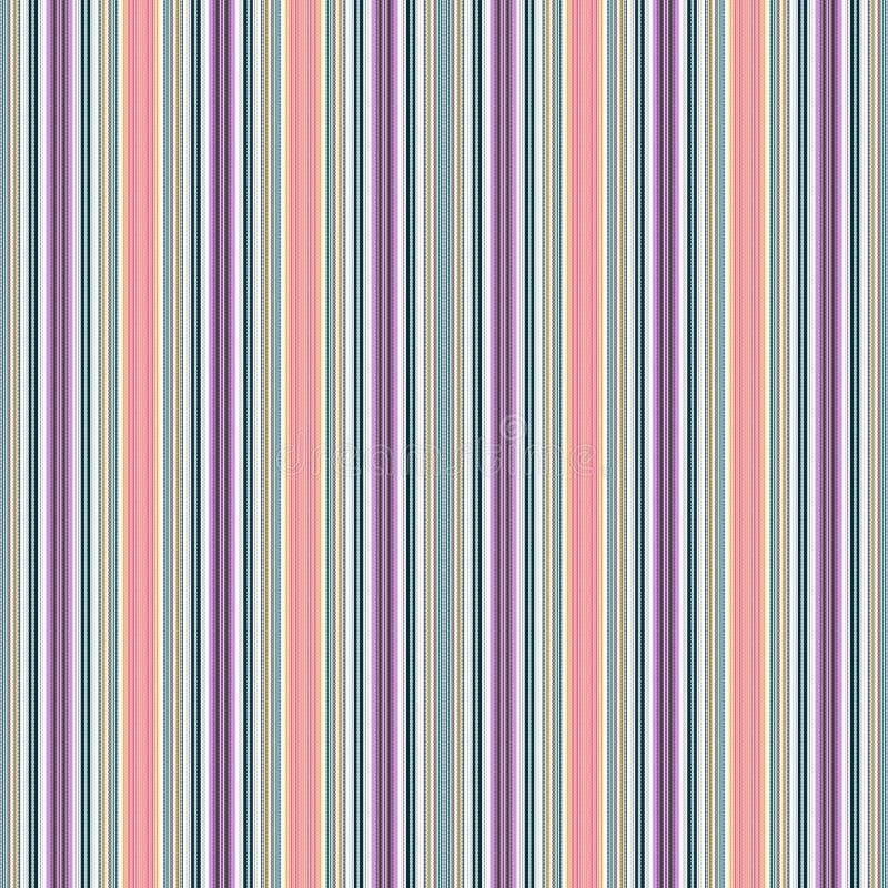 与破折号的一个无缝的样式在许多颜色 免版税库存照片