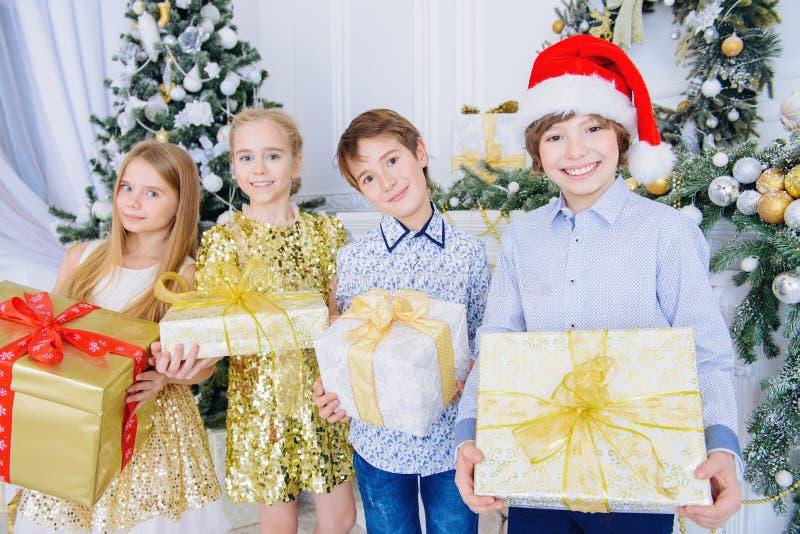 与礼物的奇迹时间 免版税图库摄影