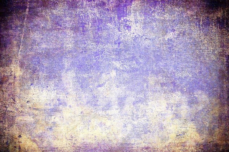 与空间的Grunge背景文本或图象的 皇族释放例证
