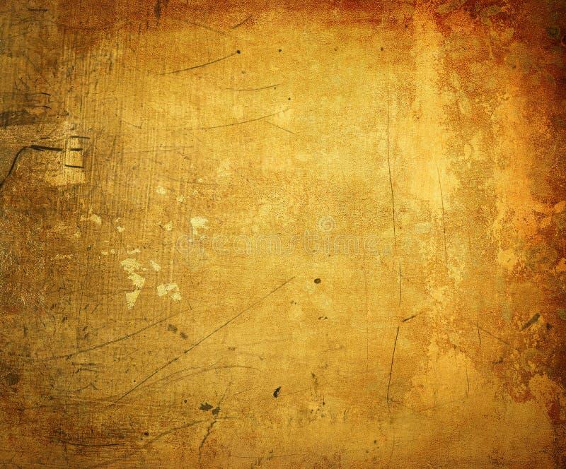 与空间的Grunge背景文本的 皇族释放例证