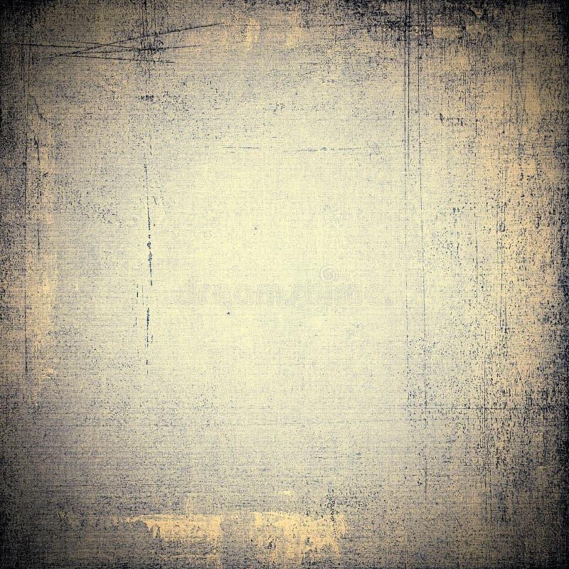 与空间的老葡萄酒纸背景 免版税库存图片