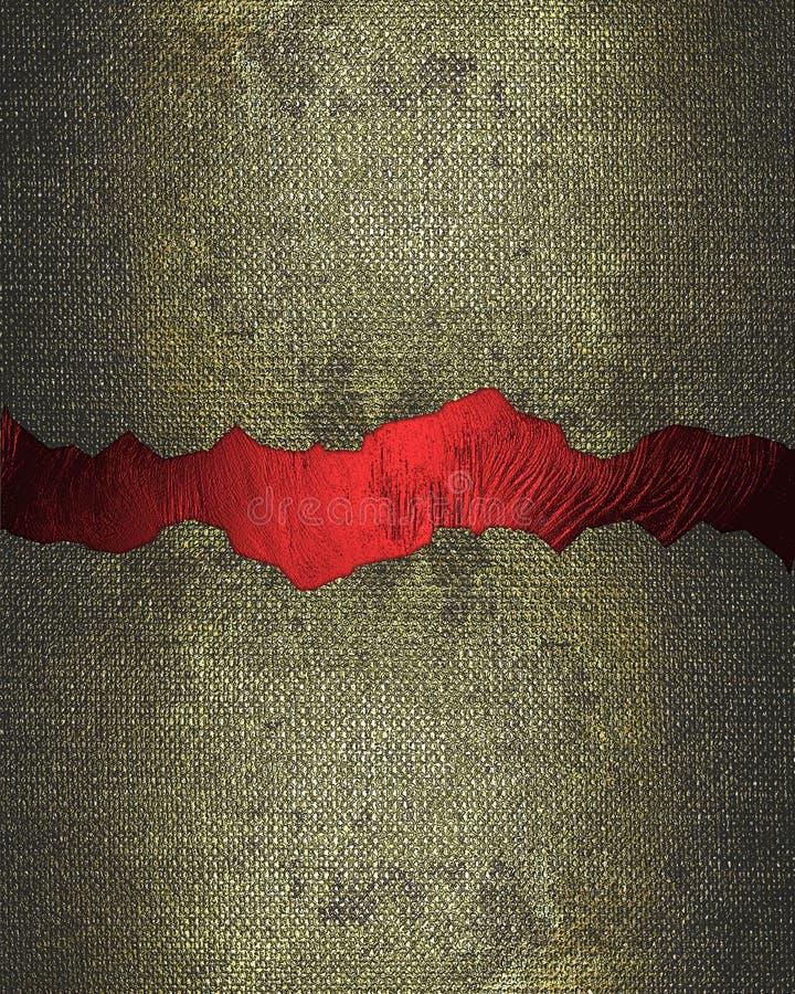 与红色裂缝的难看的东西纹理 设计的要素 设计的模板 复制广告小册子或公告邀请的,吸收空间 向量例证