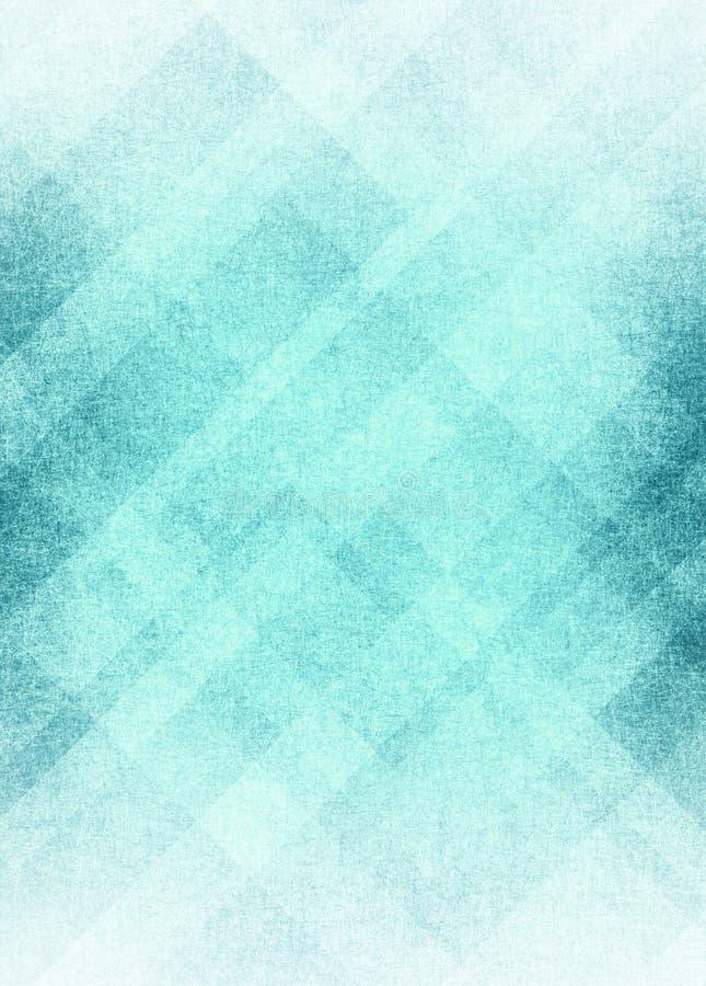 与纹理的蓝色白色抽象背景设计 免版税库存照片