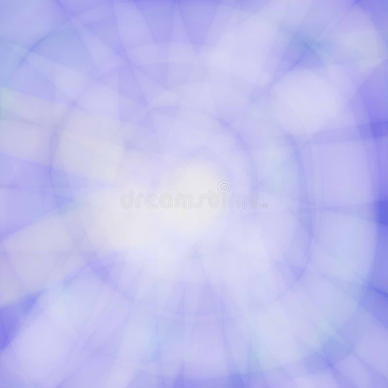 与纹理阳光的抽象天蓝色背景 库存例证
