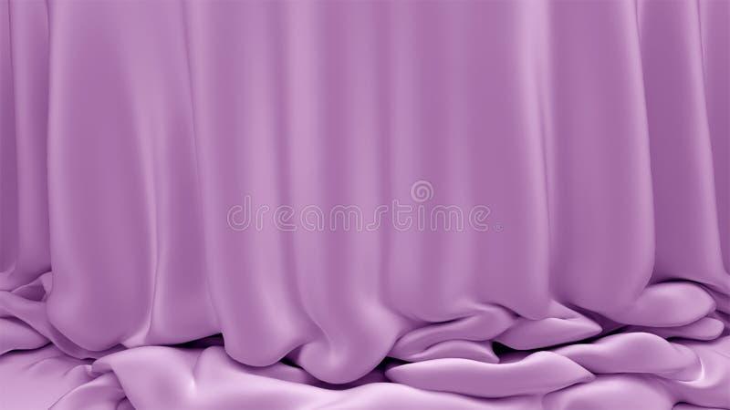 与纺织品布的背景 库存图片