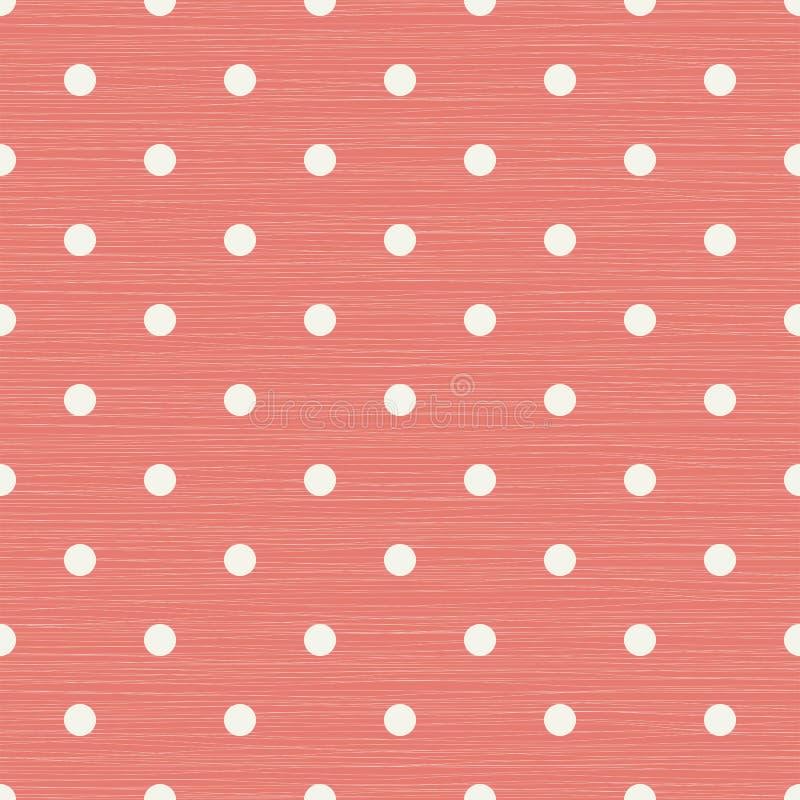 与线和圆点的无缝的背景 库存例证