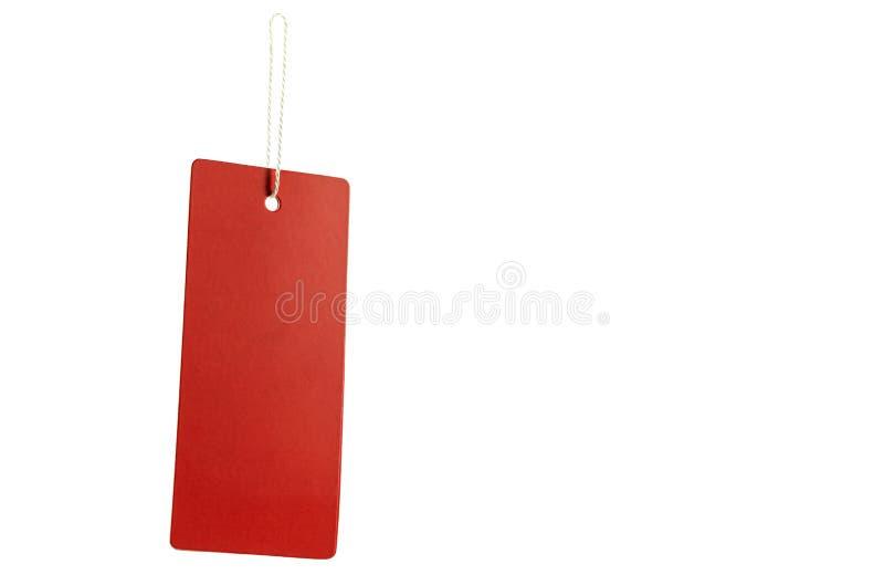与绳索的红色标记垂悬的 里面裁减路线 库存图片
