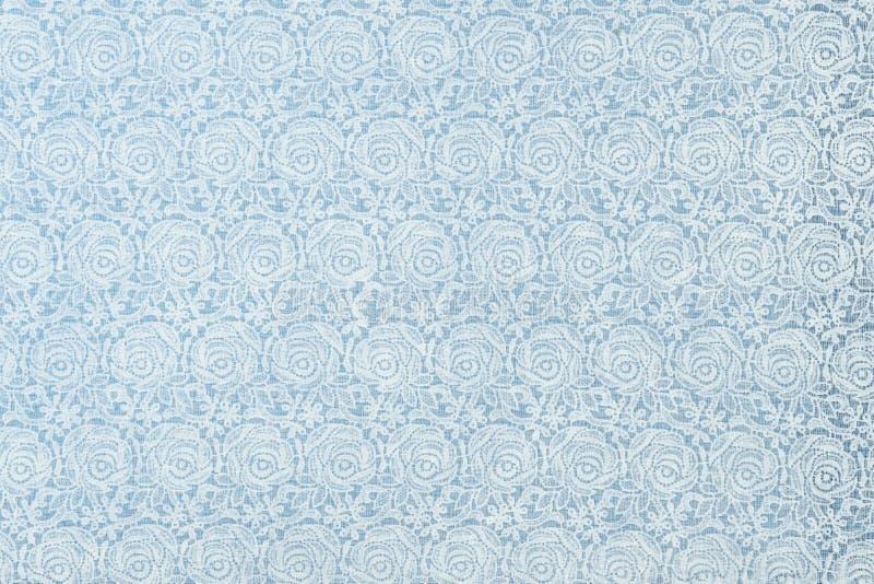与编织机玫瑰连续的专利用途a的桌布 免版税库存照片