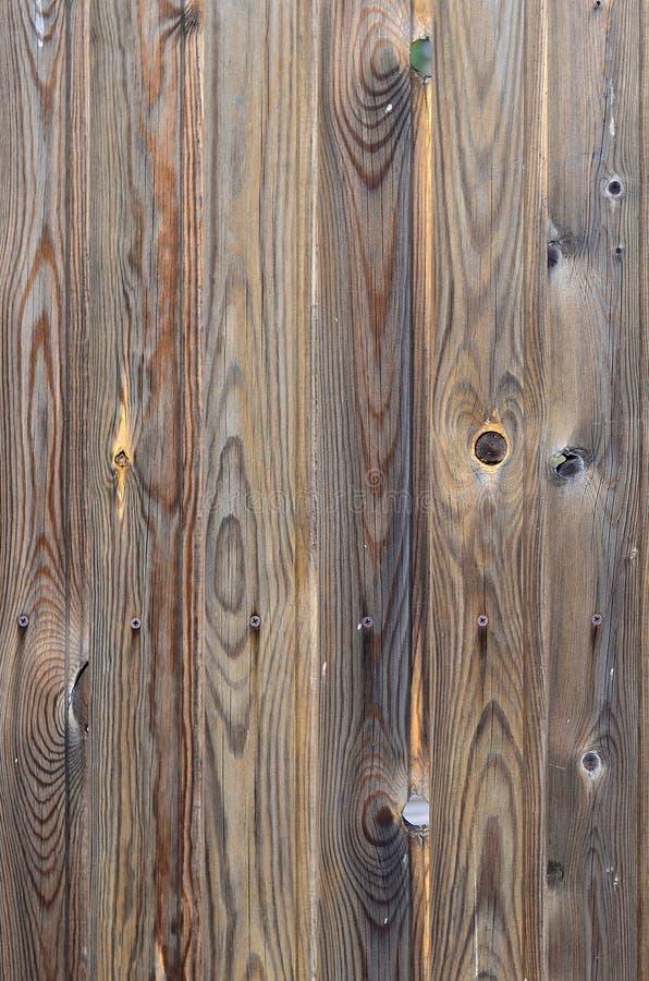 与美好的抽象五谷表面纹理、垂直的镶边背景或者背景的老难看的东西黑褐色木盘区样式我 库存图片