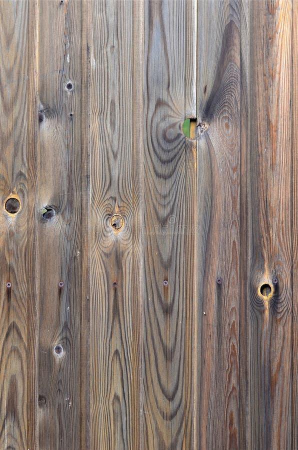 与美好的抽象五谷表面纹理、垂直的镶边背景或者背景的老难看的东西黑褐色木盘区样式我 库存照片