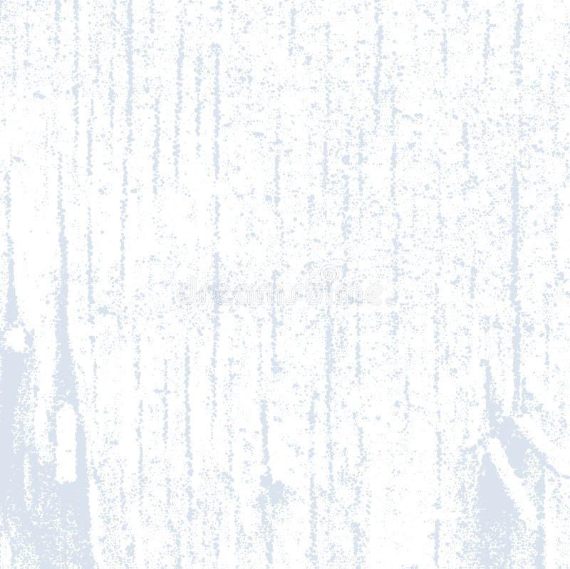 与老脏的木纹理和钉子的抽象半音背景 库存例证