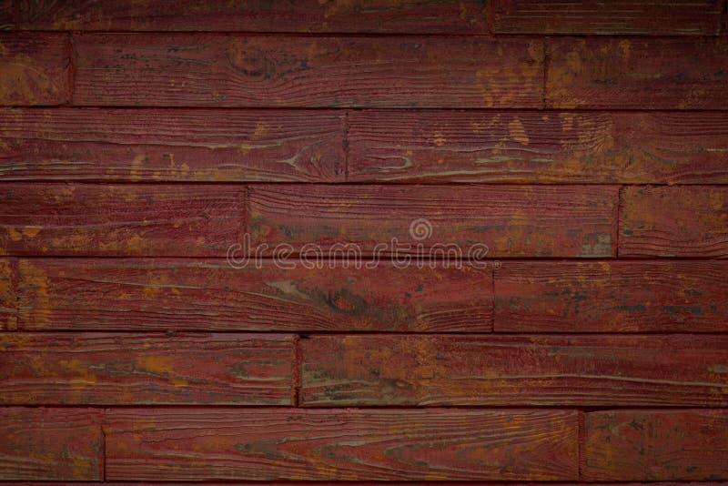 与老自然样式的木纹理背景表面 老木broun纹理背景 洗染了的木头 免版税库存照片