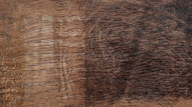 与老自然样式的黑暗的木橡树纹理背景 免版税库存照片