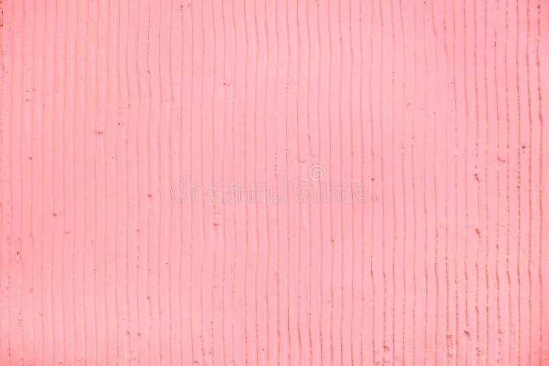 与膏药垂直线和条纹的织地不很细桃红色背景 库存例证