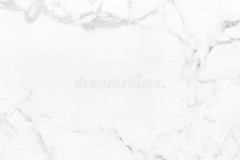 与自然主题的抽象白色大理石背景 免版税库存图片