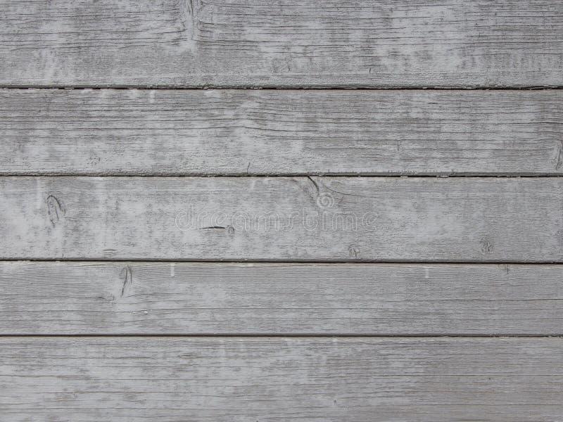 与自然样式的灰色木纹理背景 免版税库存图片