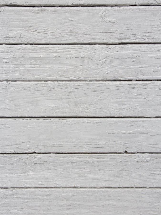 与自然样式的白色木纹理背景 库存照片