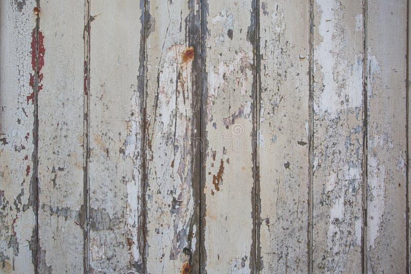 与自然样式的白色木纹理背景 免版税库存图片
