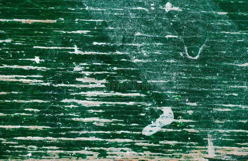 与自然样式的老绿色木头纹理 库存图片