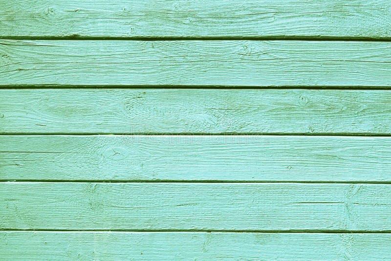 与自然样式的老绿色木纹理 免版税库存照片