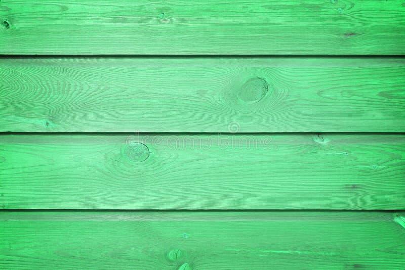 与自然样式的老绿色木纹理 库存照片