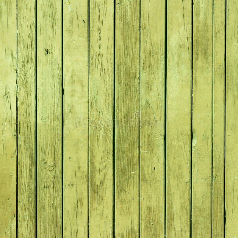 与自然样式的老绿色油漆木纹理 库存图片