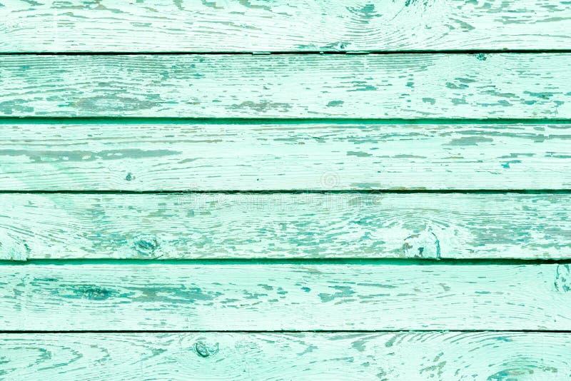与自然样式的绿色木纹理。背景 免版税图库摄影